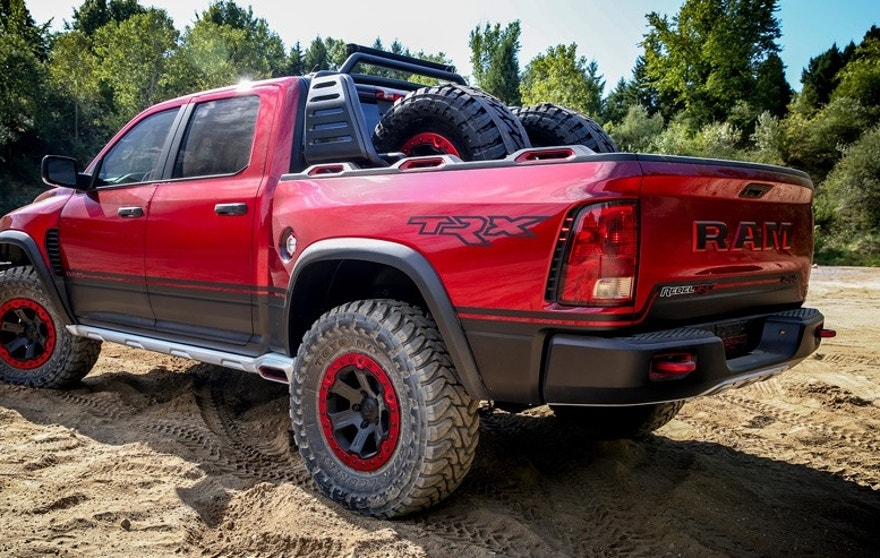 Ram S Rebel Trx Concept Gives Ford F 150 Raptor A Run For