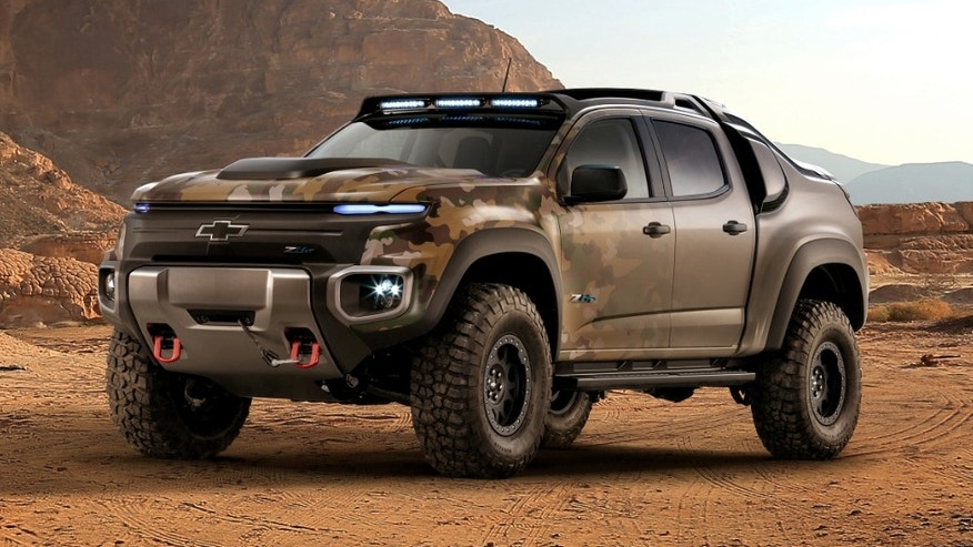 AUSA 2016: GM, US Army develop hydrogen fuel cell vehicle