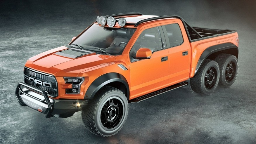 Hennessey adds more wheels and more horses to Ford Raptor