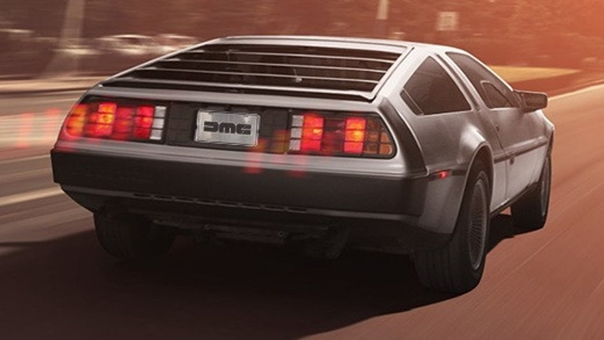 Reserve an all-new DeLorean DMC-12