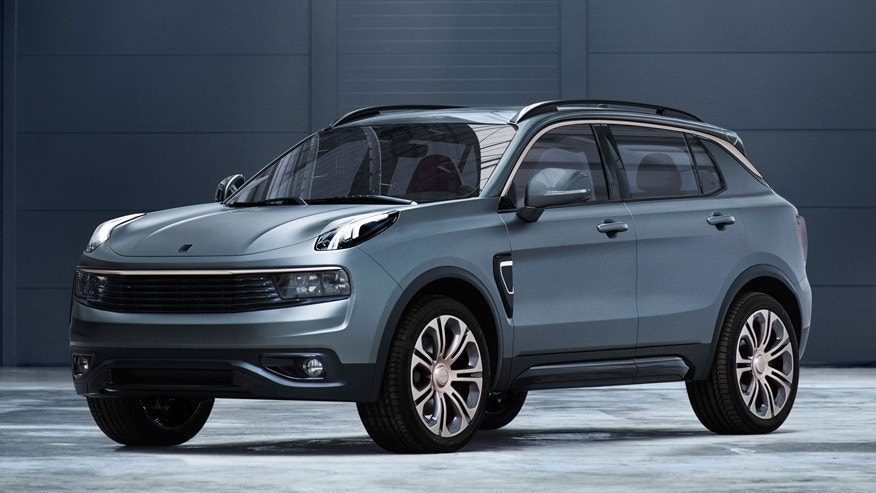 new car brand lynk co debuts with 01 suv fox news. Black Bedroom Furniture Sets. Home Design Ideas