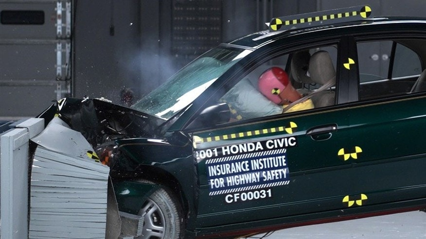 civic crash