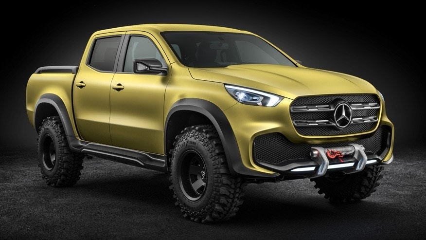 mercedes benz x class pickup revealed fox news. Black Bedroom Furniture Sets. Home Design Ideas