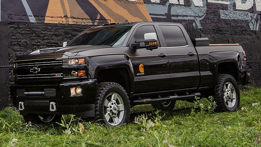 Chevy teams up with Carhartt for custom SEMA Silverado | Fox News