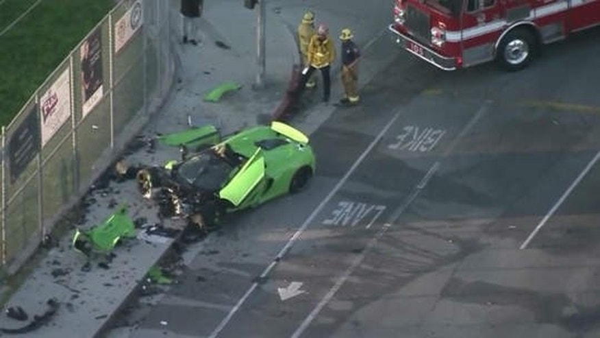 Mclaren Supercar Completely Demolished In Southern