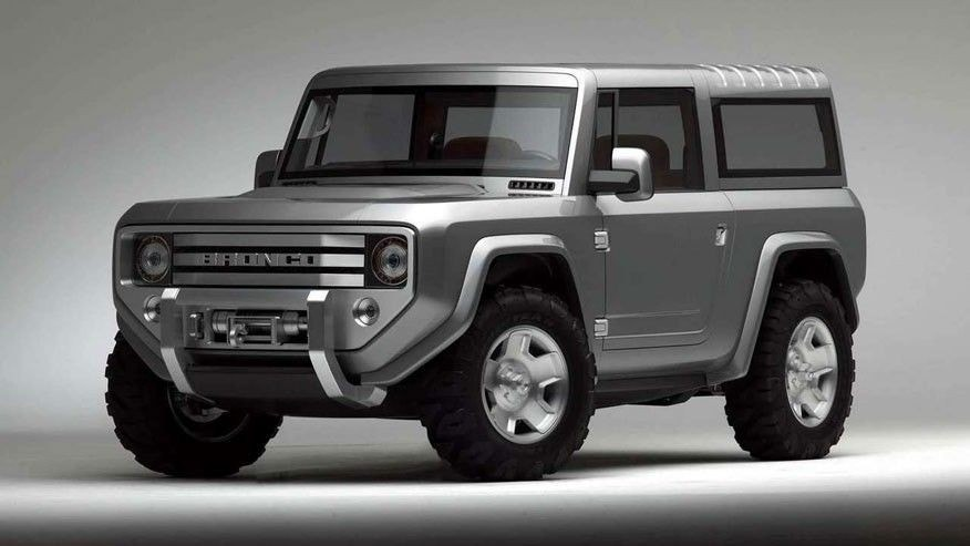 The 2004 Bronco Concept was one vision for a future SUV