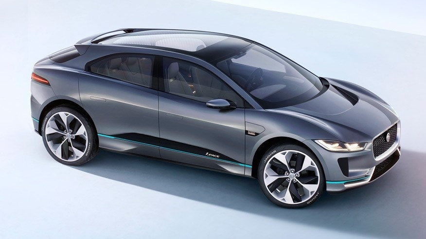Thread: Jaguar I Pace In Promotional Video Looks Like The Concept