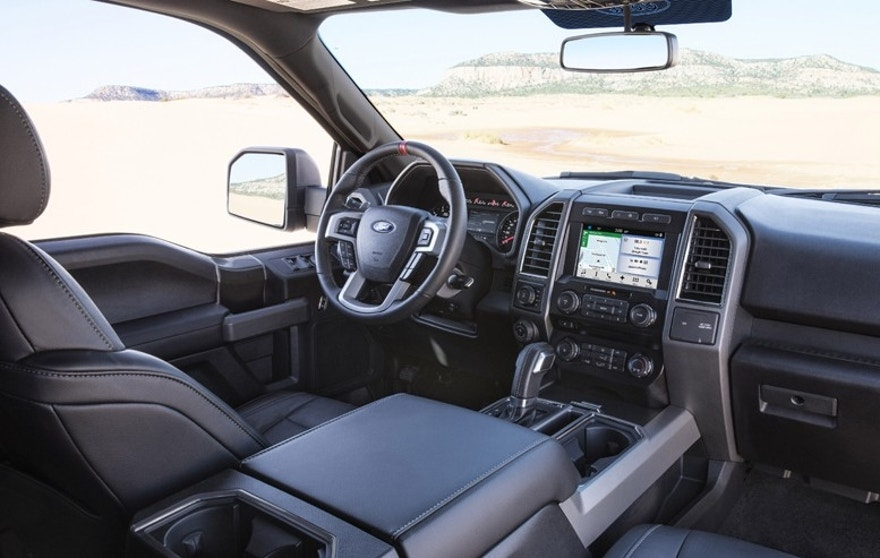 raptor cabin ford