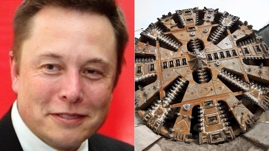 Elon Musk suggests plan to dig Tunnels to combat American Traffic