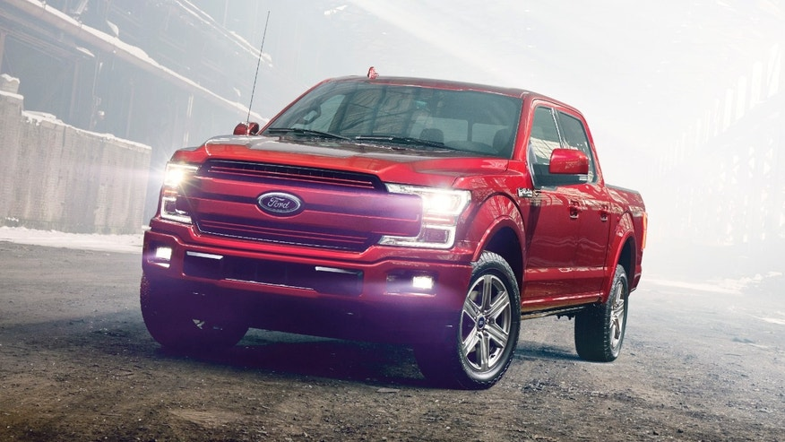 2018 ford f-150 handout