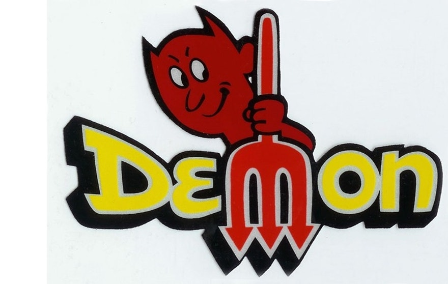 old dodge demon logo