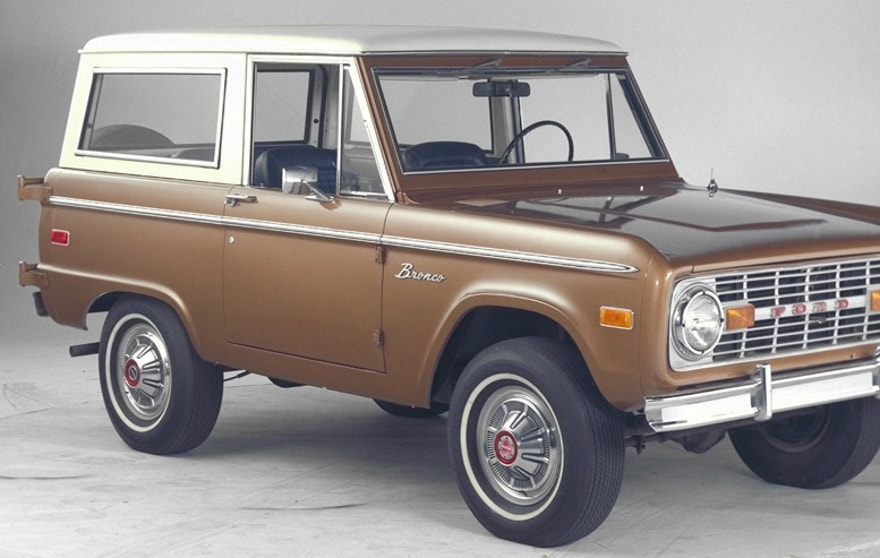 1974 ford bronco handout