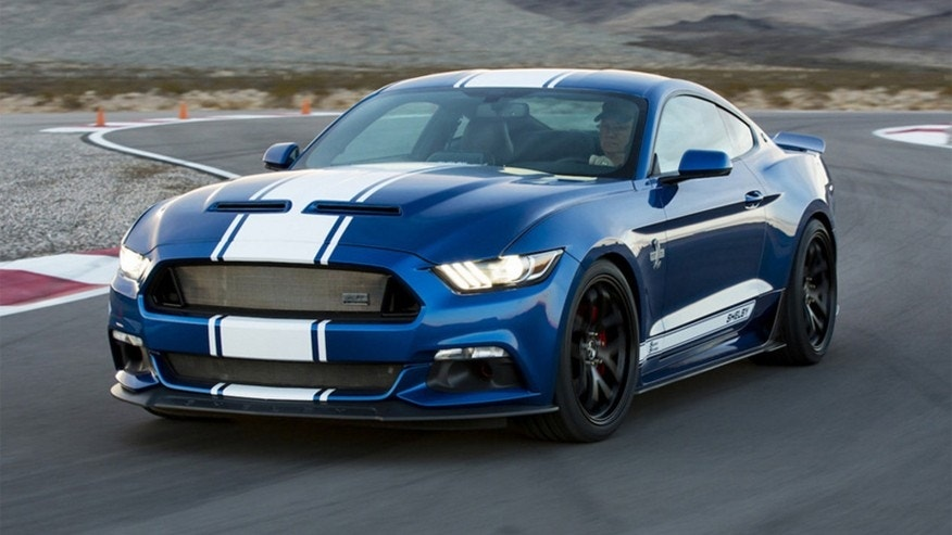 shelby rolls out 50th anniversary super snake fox news. Black Bedroom Furniture Sets. Home Design Ideas