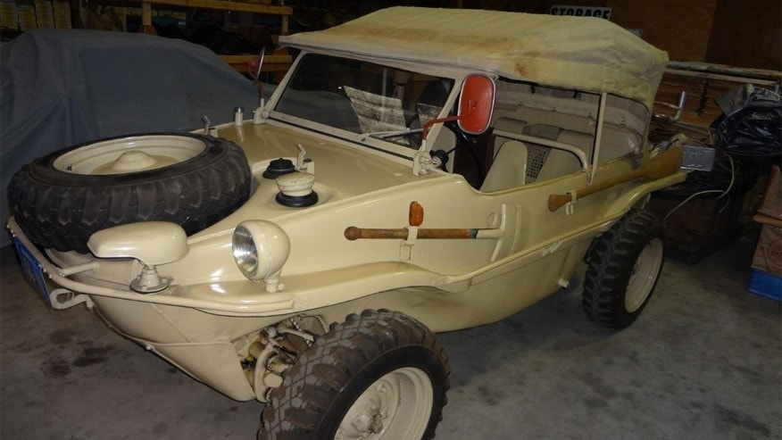 Bruce Auto Parts >> WWII and amphibious car collectors take note: 1944 VW ...