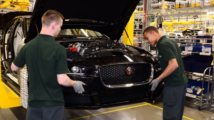 Thieves steal $4.8M worth of Jaguar Land Rover engines