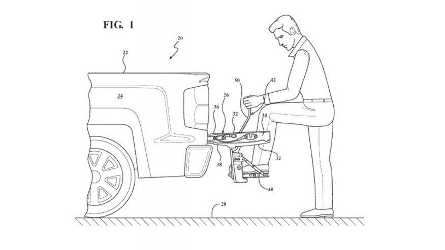 Next Chevy Silverado could get this built-in tailgate step ...