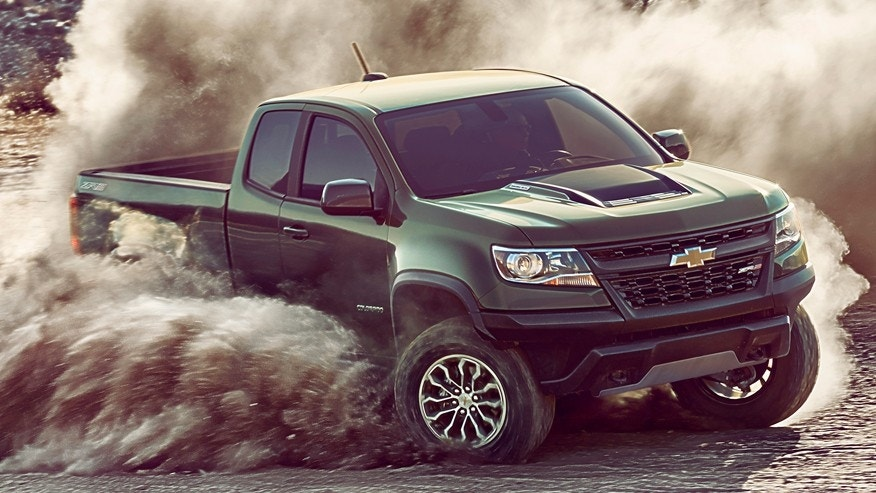 2017 Chevy Colorado Zr2 >> 2018 Chevrolet Colorado ZR2 pickup priced at $40,995 | Fox News