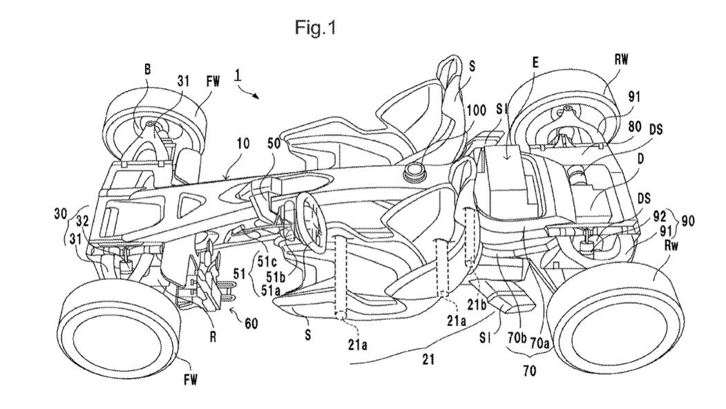 honda files a patent for a radical mid