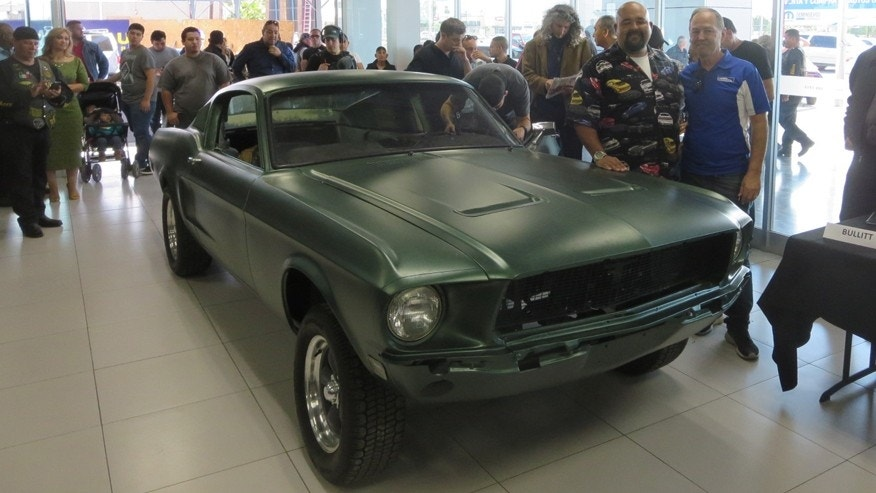 Ford Mustang Found In Mexican Junkyard Is From Bullitt