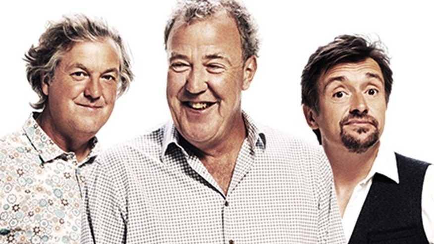'The Grand Tour' cast James May, Jeremy Clarkson and Richard Hammond