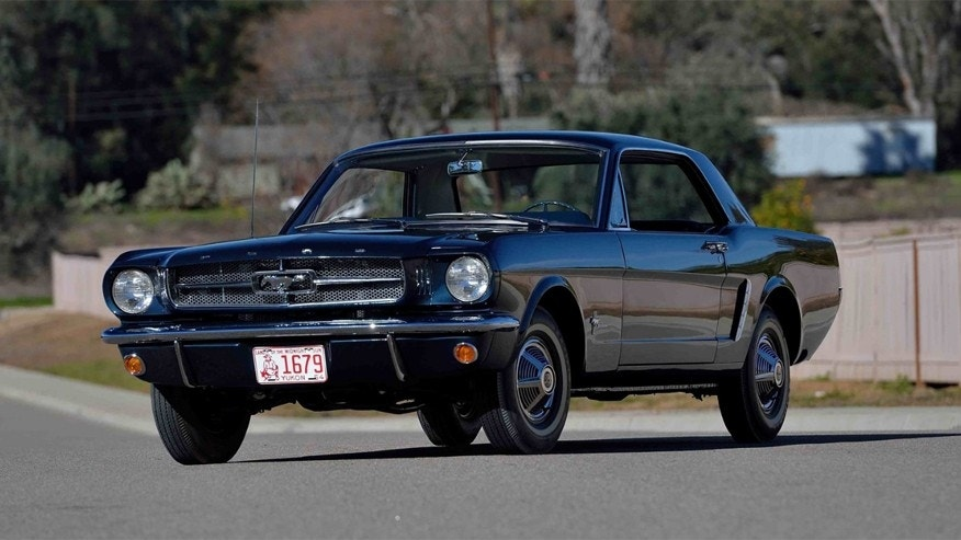 first ford mustang coupe ever built going under the hammer fox news. Black Bedroom Furniture Sets. Home Design Ideas