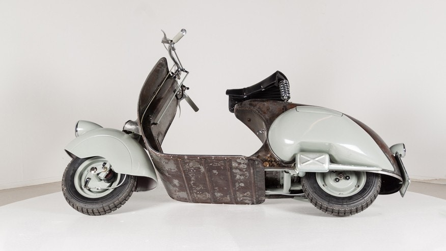 the oldest vespa scooter is for sale and worth a fortune fox news. Black Bedroom Furniture Sets. Home Design Ideas