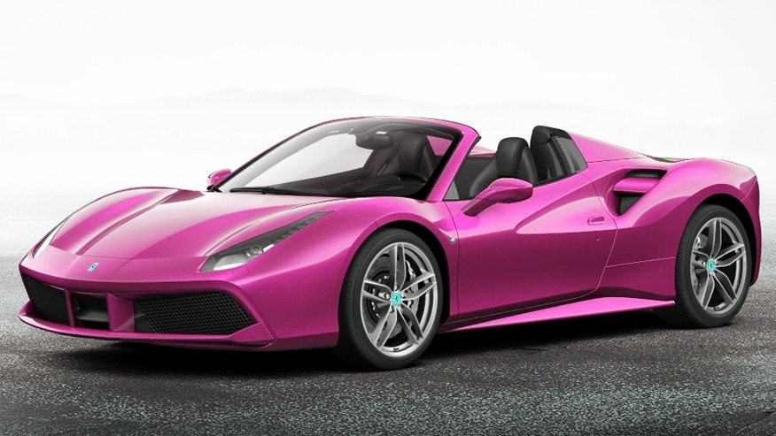 ferrari is definitely not in the pink bans color from its. Black Bedroom Furniture Sets. Home Design Ideas