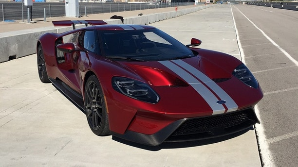 Ford Gt  Hp