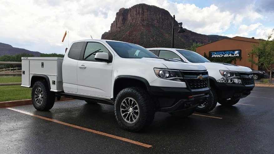 Chevy Work Truck >> Chevy Turned The Colorado Zr2 Into The Ultimate Off Road Work
