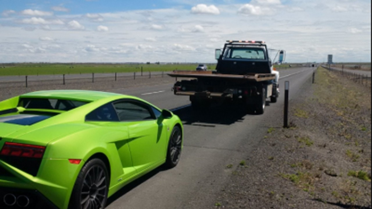 Lamborghini Impounded After Two 100 Mph Tickets In Eastern Washington