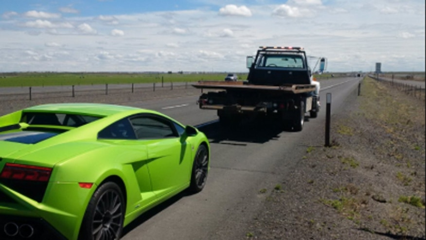 The Washington State Patrol impounded a Lamborghini after troopers pulled it over twice for driving over 100 mph.