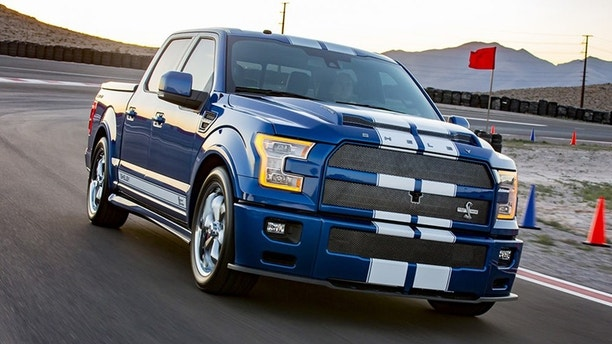 shelby american uncoils wide body mustang super snake and 750 hp f 150 fox news. Black Bedroom Furniture Sets. Home Design Ideas