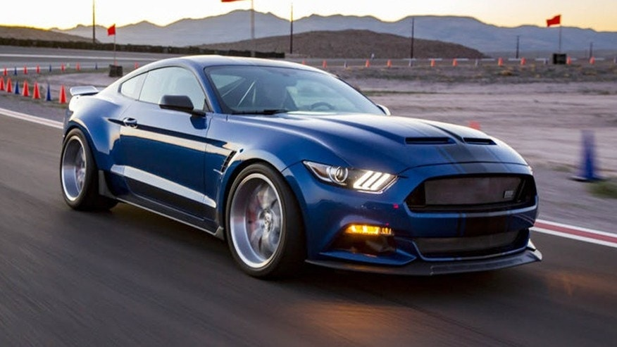 Shelby F150 Super Snake For Sale >> Shelby American uncoils wide body Mustang Super Snake and 750 hp F-150 | Fox News
