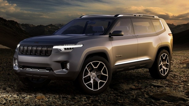3-row Jeep SUV revealed in patent drawings | Fox News