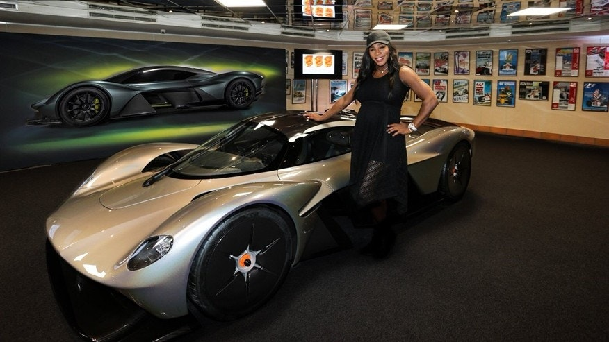 Serena Williams Offers A First Look At The Aston Martin Valkyrie - Aston martin news
