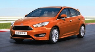 china ford focus