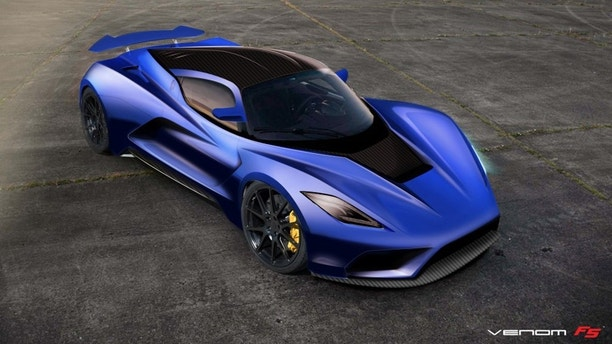 the hennessey venom f5 aims to be world 39 s fastest car at close to 300 mph fox news. Black Bedroom Furniture Sets. Home Design Ideas