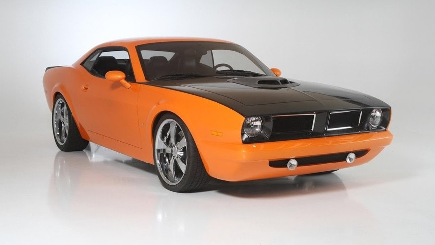Dodge Challenger Barracuda Concept