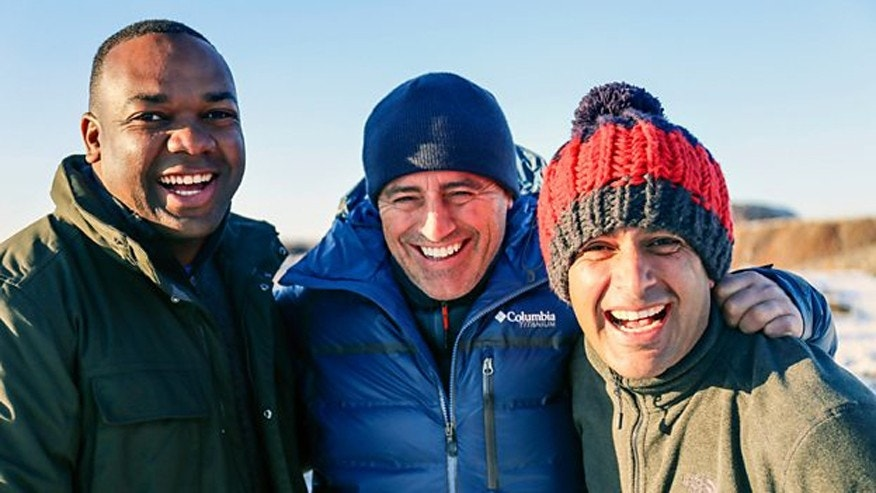 """Top Gear"" hosts Rory Reid, Matt LeBlanc, Chris Harris"
