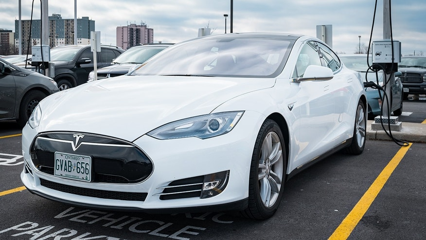 The new record was broken by a Tesla Model S