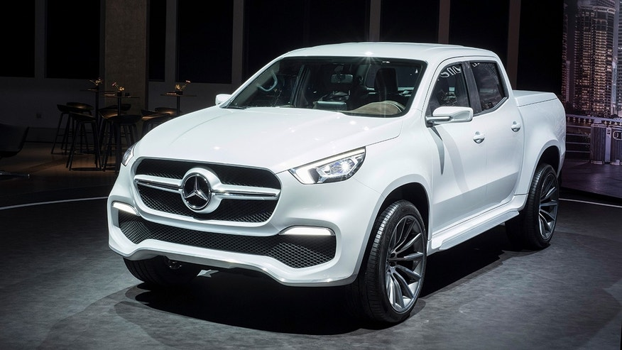 mercedes pickup truck ready to roll but not in u s fox. Black Bedroom Furniture Sets. Home Design Ideas