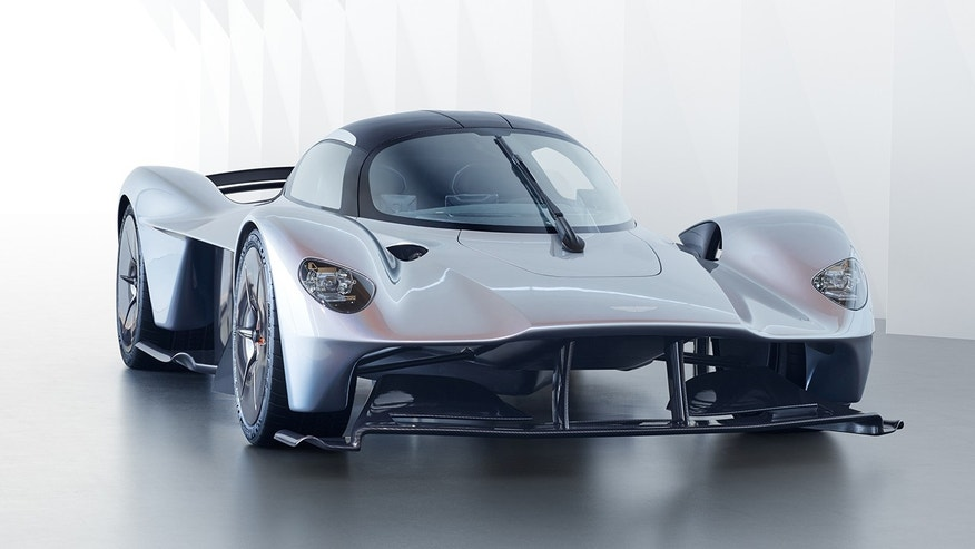 Street-legal Valkrie wields a V-12 Hybrid engine