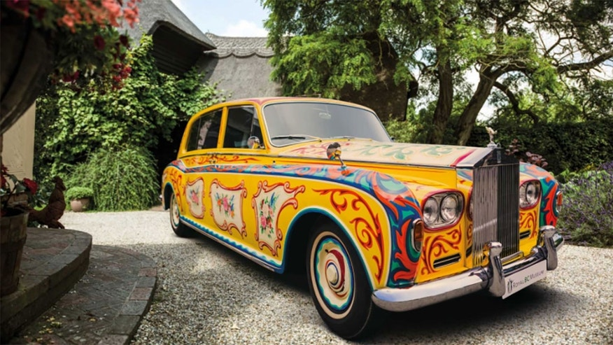 John Lennon's Rolls-Royce Goes on Tour