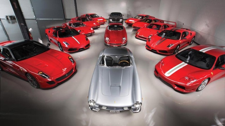 Rare and exotic collection of Ferrari supercars to sell for $18 ...