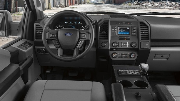 The Ford F-150 Police Responder pursuit-rated pickup is ...