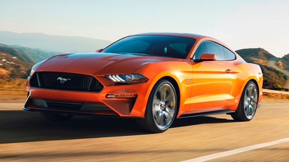 the 2018 ford mustang gt is the most powerful one yet fox news. Black Bedroom Furniture Sets. Home Design Ideas