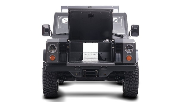 The Bollinger Motors B 1 Is An Old School Truck With A