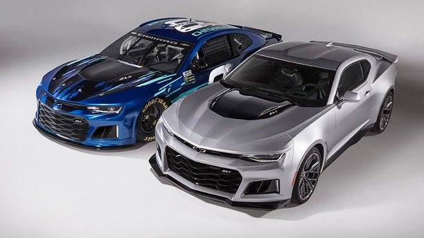 Chevrolet Camaro To Join Monster Energy Nascar Cup Series In