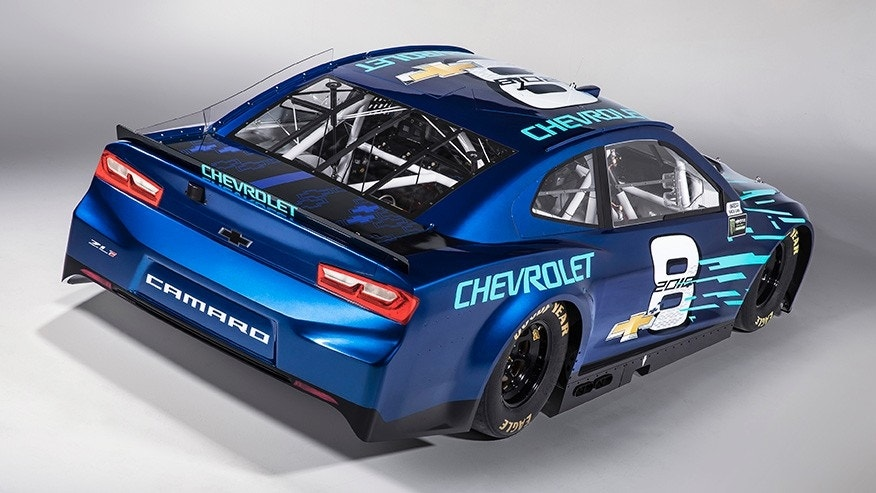 the camaro zl1 is the new chevrolet race car of the monster energy nascar cup series