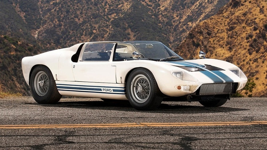 The first Ford GT40 Roadster is up for sale | Fox News